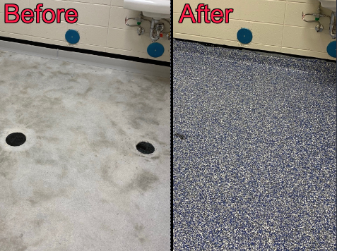 Leesburg, GA - It was a great experience to work with Floor Warriors! They came out to do a few estimates on multiple bathrooms in our building. From start to finish, they showed true dedication and attention to detail. They were polite and professional the whole time, even when we had some last-minute adjustments, like changing the color. I highly recommend this company and their work!
