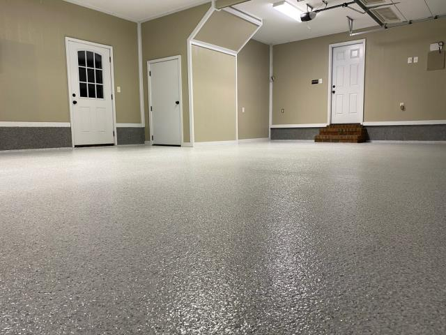 Albany, GA - This floor could not have turned out better! The textured look is absolutely perfect! The quality is A+! Floor Warriors really does fantastic work at a fair price! Anyone needing some concrete polished/decorated, go to Floor Warriors first!