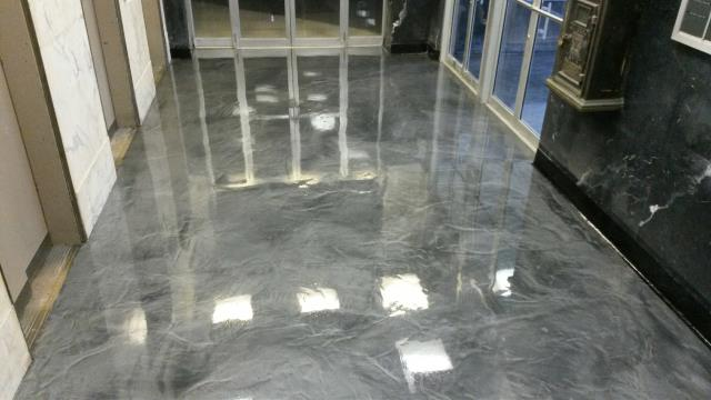Leesburg, GA - Floor Warriors make fantastic floors! Very professional people! Well-trained! I'm confident that they always use the best products for their jobs! I'm seen a lot of their decorative coatings, marble and wood, not a single one doesn't look amazing!