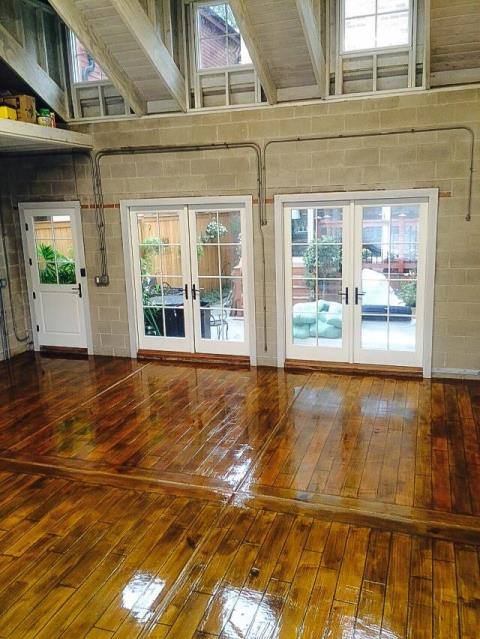 Albany, GA - If you are looking for a floor to be coated, resurfaced, or decorated, look no further! Floor Warriors is the best in the biz! Go and look at their photos and you will see what I am talking about. The wood coatings are indistinguishable from real wood!