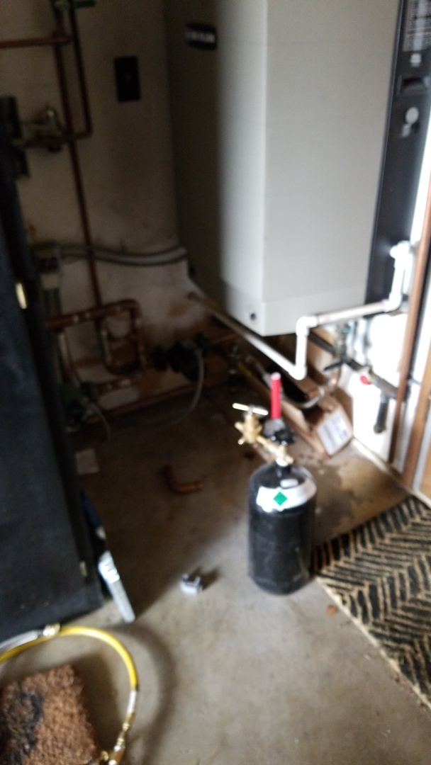 Beaverton, OR - Leak detection on a hydronic system