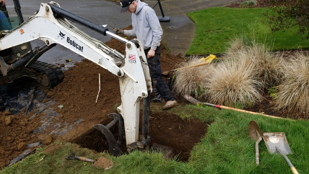 Tigard, OR - Sewer line repair