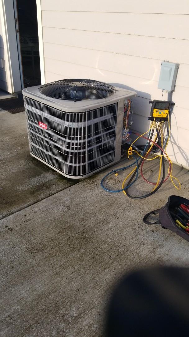 Ridgefield, WA - Heat pump tune up.