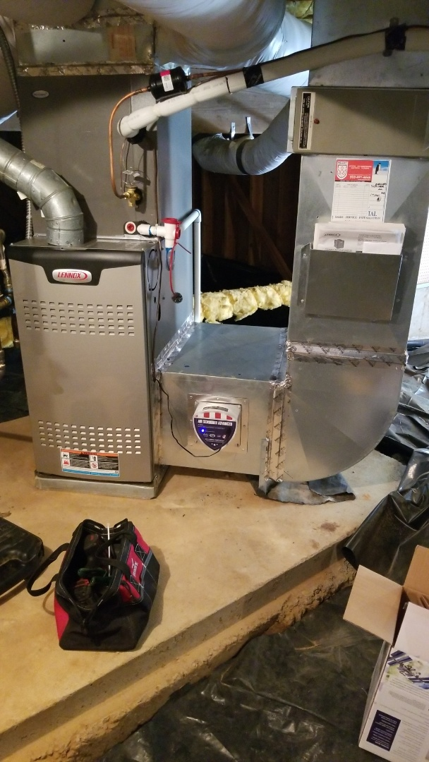Gresham, OR - Furnace/AC tune up and Air Scrubber air purifier install