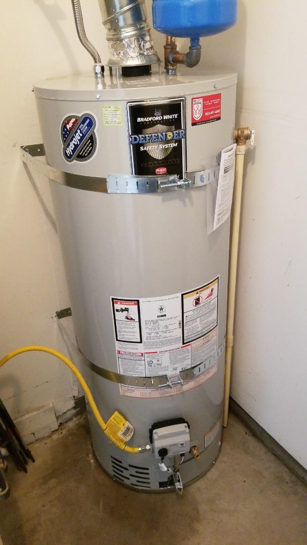 Wilsonville, OR - Water heater installation