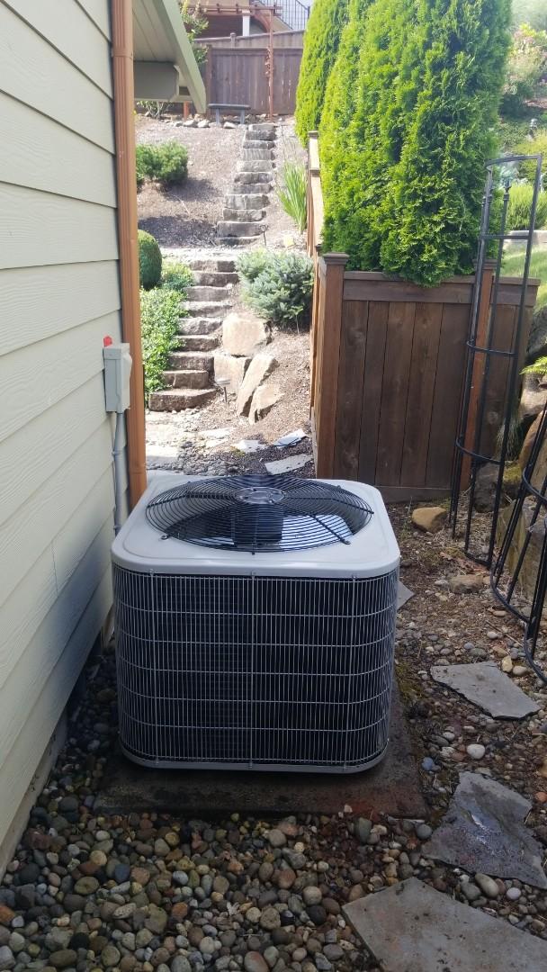 Washougal, WA - Heat pump tune up