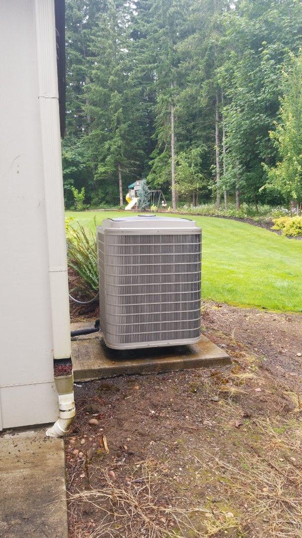 Brush Prairie, WA - Heat pump, air handler, and HRV tune ups