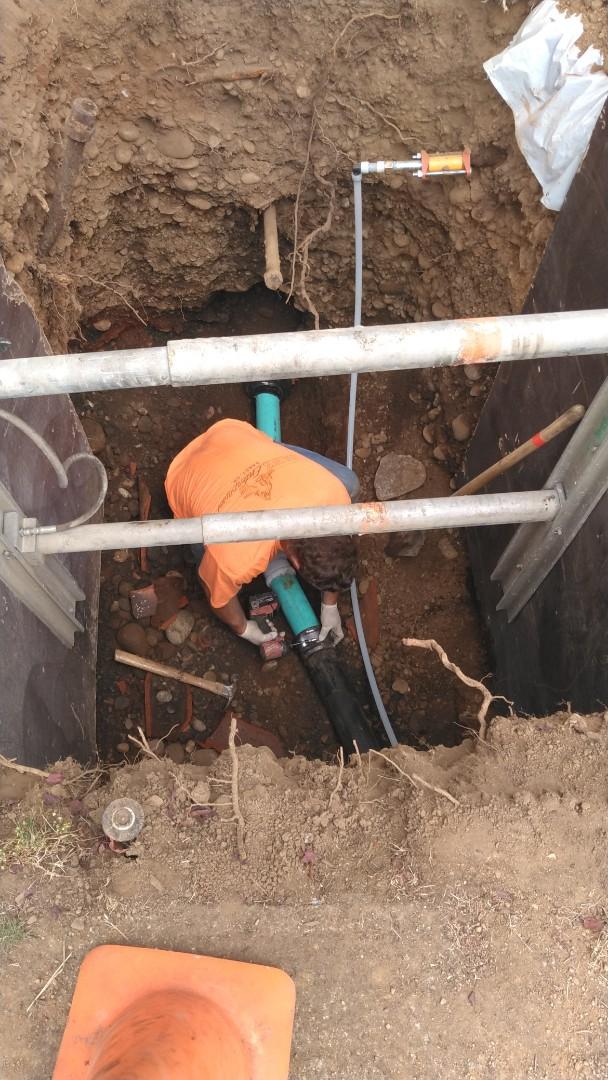 Portland, OR - Sewer replacement spot repair