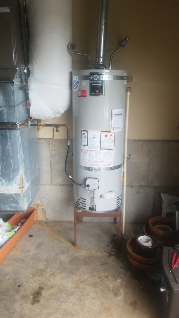 Beaverton, OR - Water heater installation