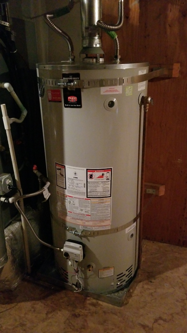 Portland, OR - Water heater installation, unusual access