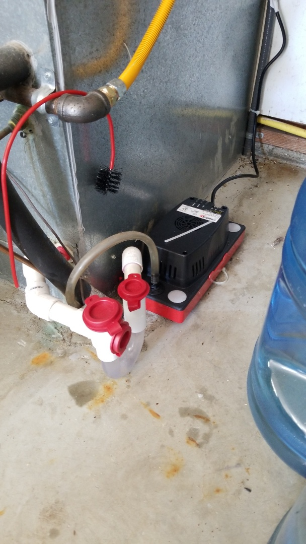 King City, OR - Replaced condensate pump and added an EZ Trap.