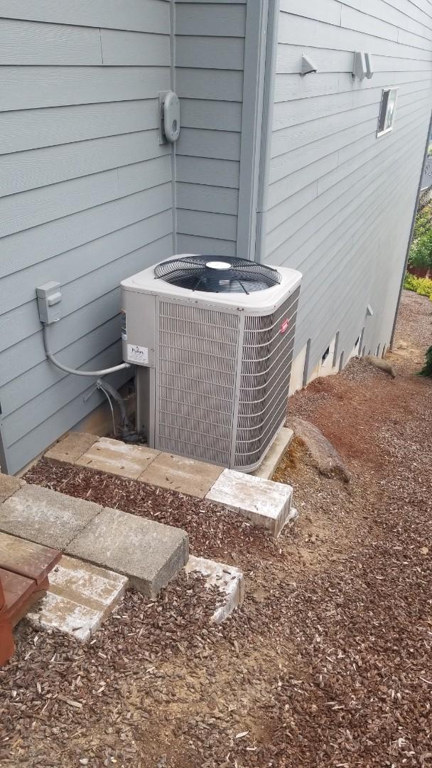 Washougal, WA - Heat pump diagnostic/repair