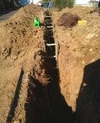 Gresham, OR - Replacing sewer line