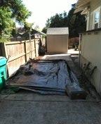 Portland, OR - S.E. Portland- Sanitary sewer line bursting and lining.