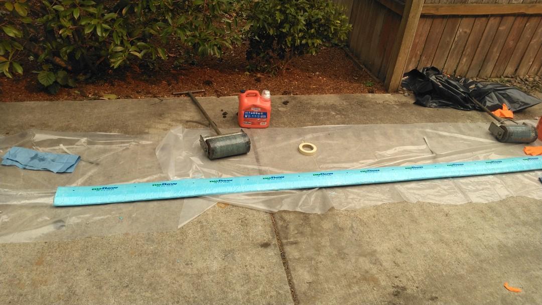 Portland, OR - Southeast Portland- Sanitary sewer line lining and burst.
