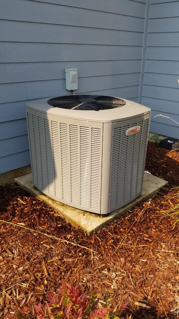 Brush Prairie, WA - Heat pump/air handler maintenance.
