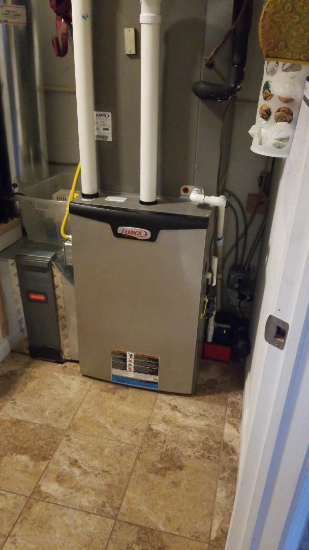 White Salmon, WA - Furnace diagnostic: Condensate pump replacement.