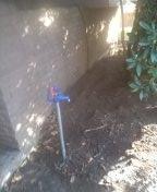 Water service installation. Southwest portland.