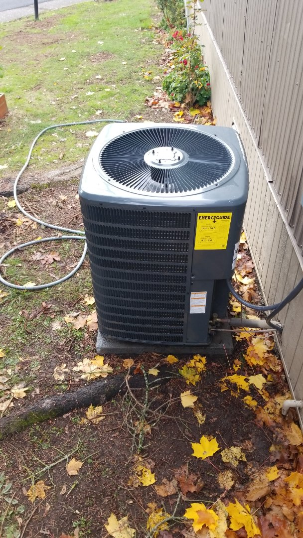 Fairview, OR - Heat pump diagnostic/repair and tune up.