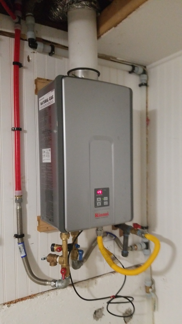 Damascus, OR - Tankless water heater installation