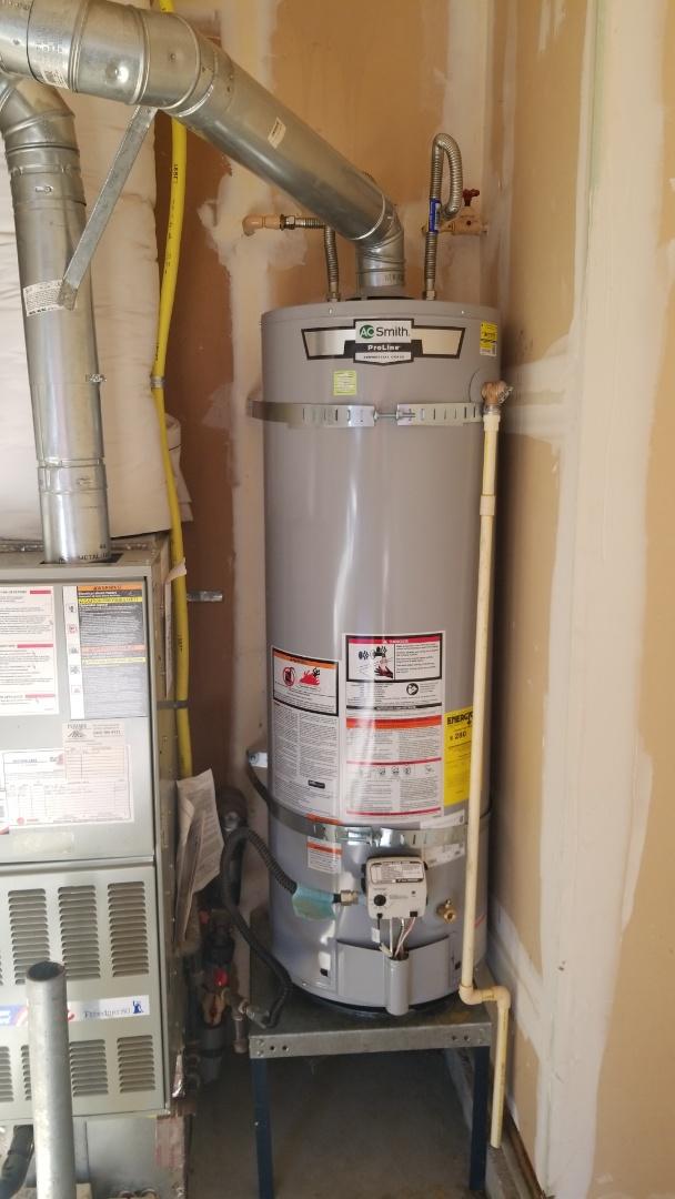 Beaverton, OR - Water heater installation