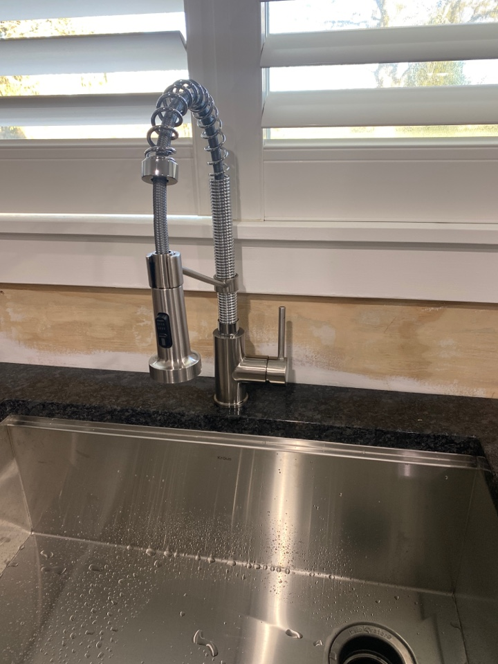Damascus, OR - Damascus. New kitchen faucet install.