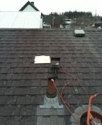 Molalla, OR - Molalla, sewer line, sewer inspection, roof vent.