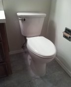 Portland, OR - Replaced toilet