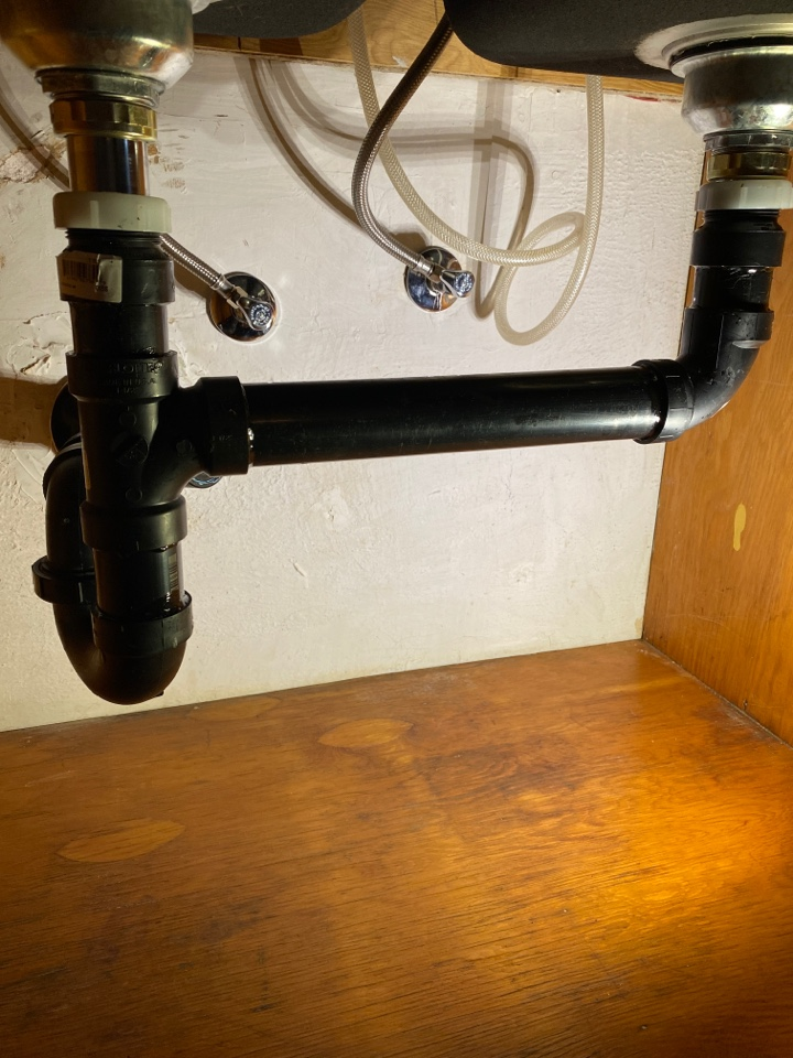 Portland, OR - Portland. New drains for kitchen sink.