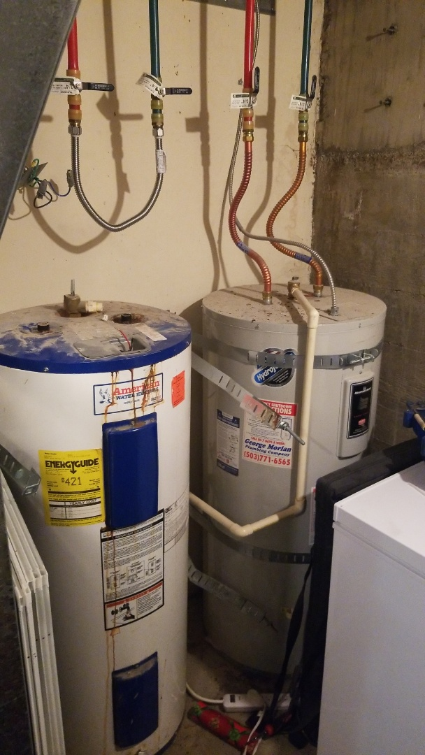 Troutdale, OR - Water heater installation and repair