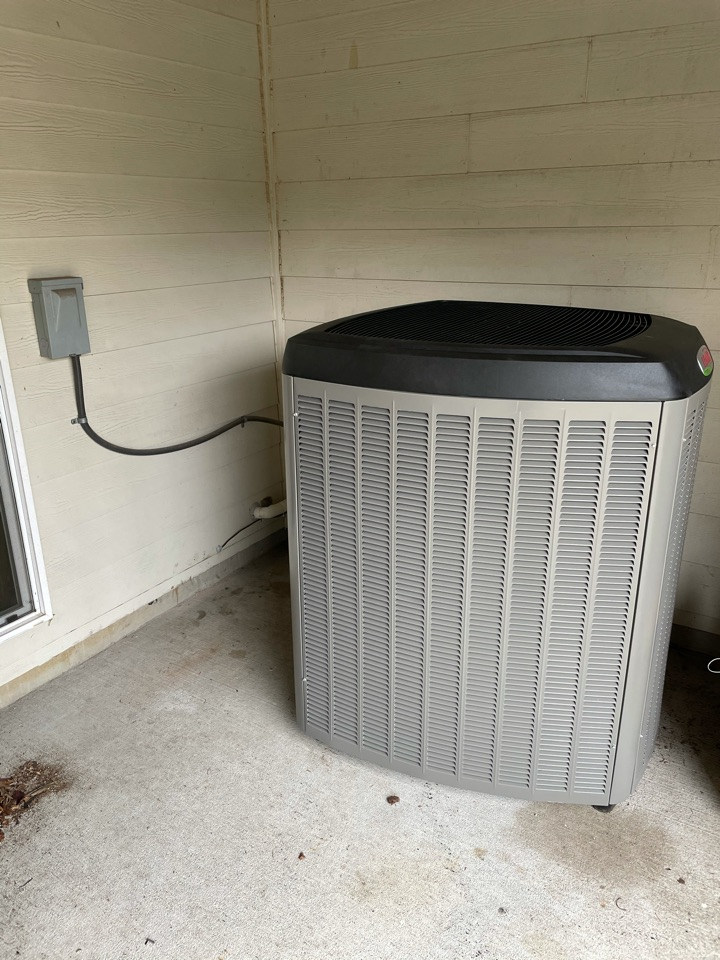 Fairview, OR - New furnace, air conditioner, and aprileaire filter install. Fairview, OR