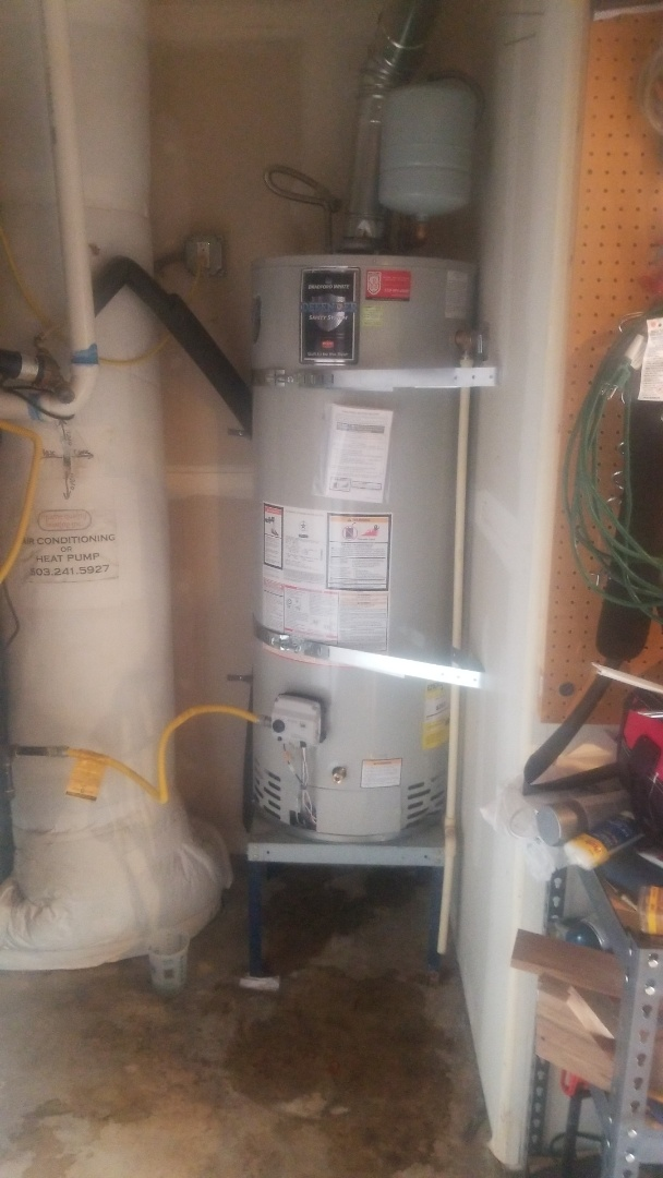 Troutdale, OR - Water heater installation