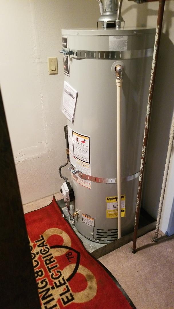 Damascus, OR - Water heater installation