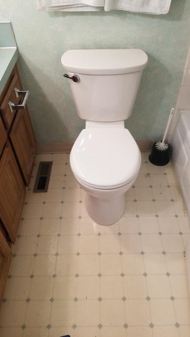 Troutdale, OR - Toilet repair