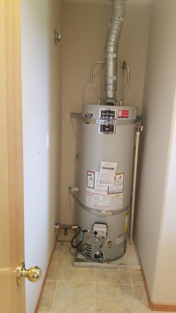 Newberg, OR - Water heater installation