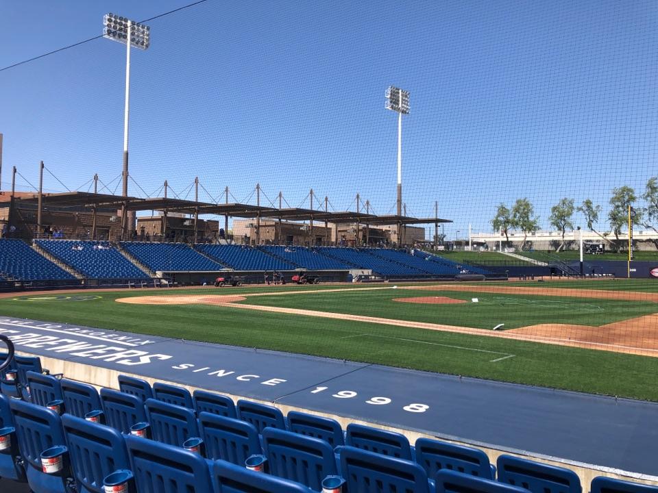 Phoenix, AZ - Arizona. Spring training. Baseball
