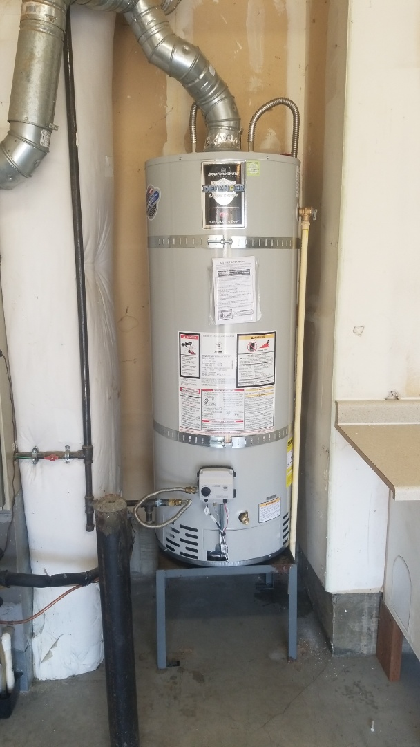 Tigard, OR - Water heater installation