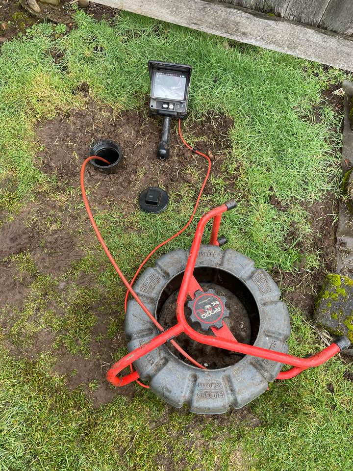 Clackamas, OR - Sewer inspection