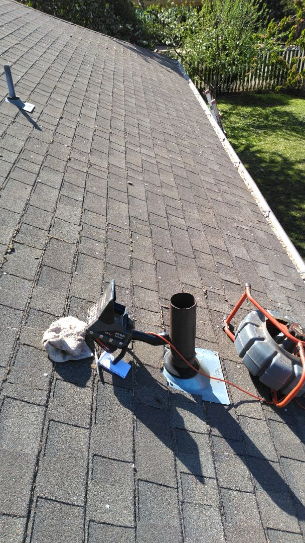 McMinnville, OR - Mcminnville, sewer line, sewer inspection, roof vent.
