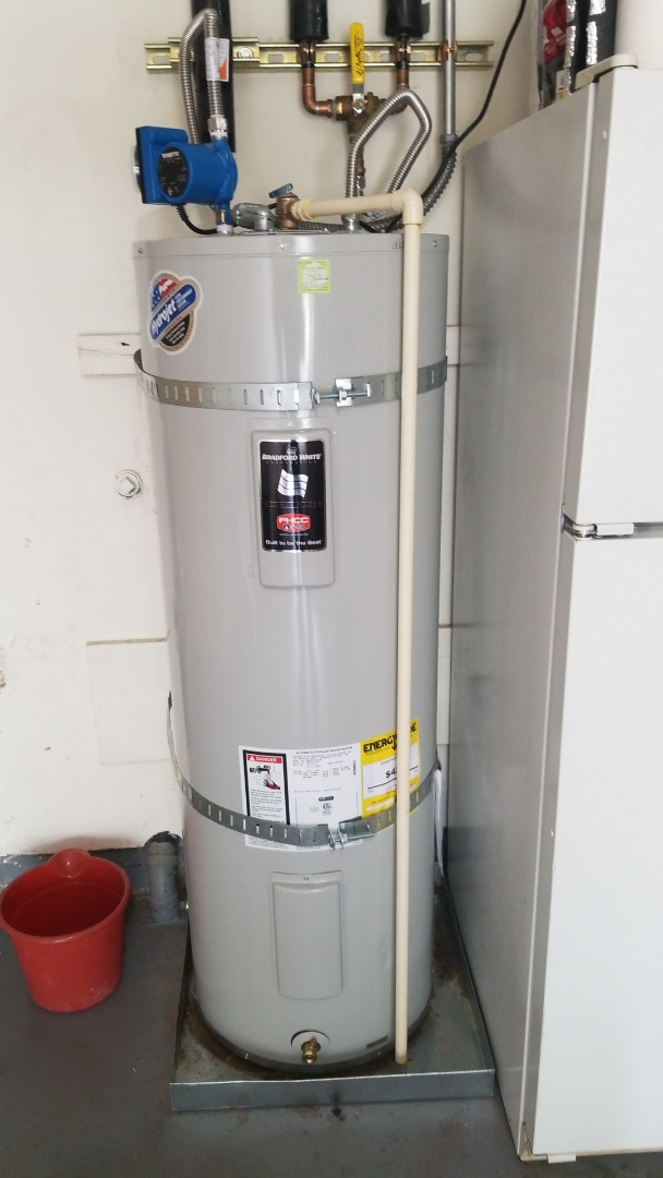 Government Camp, OR - Water heater installation