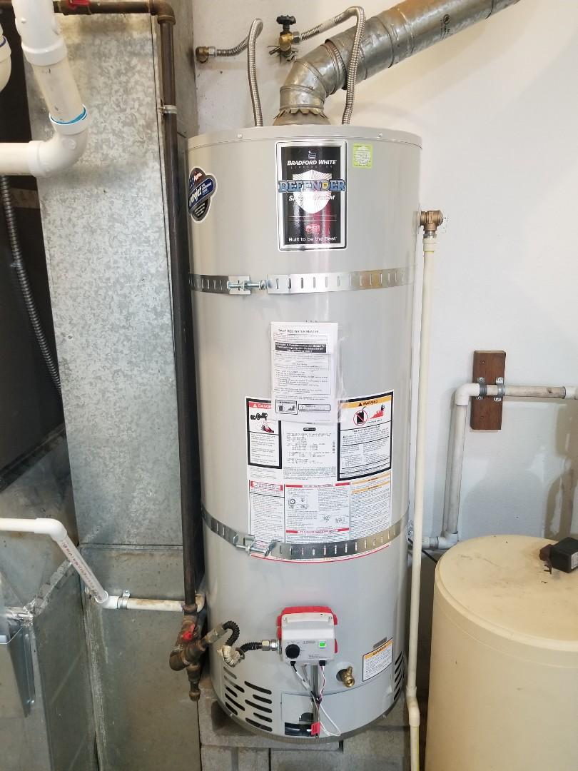 Sandy, OR - Water heater installation