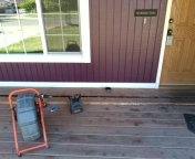 Hillsboro, OR - Hillsboro, sewer line, sewer inspection. Front porch.