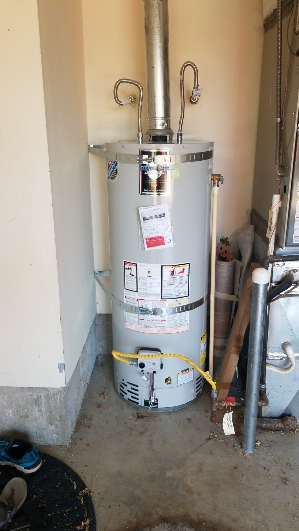 Portland, OR - Water heater installation