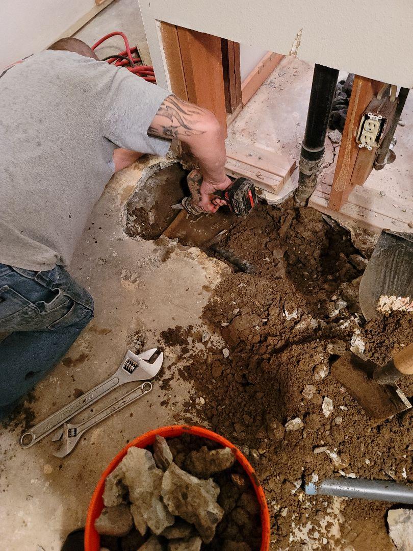 Tigard, OR - Water service repair