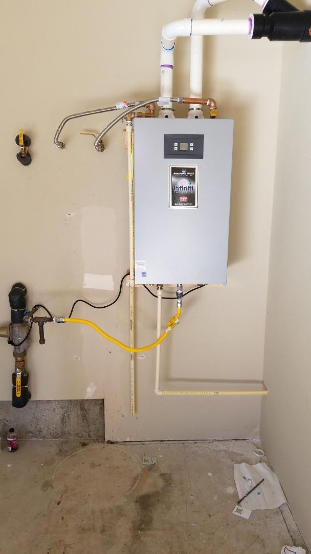 Wilsonville, OR - Tankless water heater retrofit