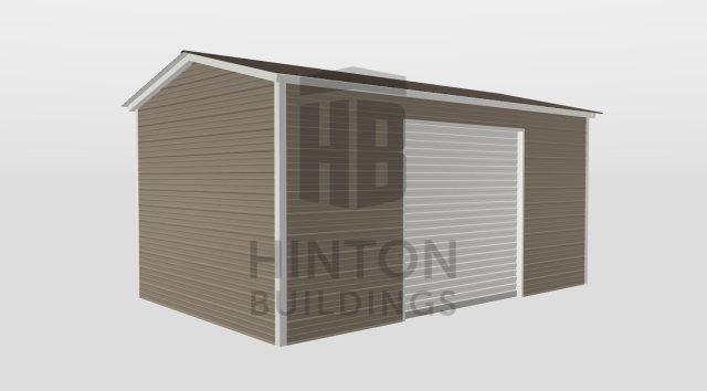 Clayton, NC - Mark Morgan designed and purchased a 12x21x8 for the athletic department of Riverwood Middle School! Thank you for trusting Hinton Buildings with your building needs!