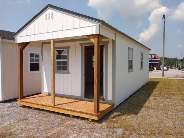 Dunn, NC - Mr. Sheppard ordered this 12x30 utility playhouse for his home. Thank you for choosing Hinton Buildings