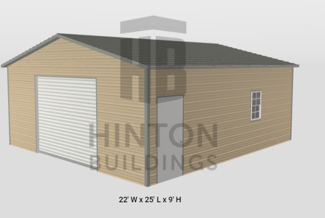 Lillington, NC - Mr. Pope stopped by today and priced a 22x25 garage for his home. Thank you for choosing Hinton Buildings.