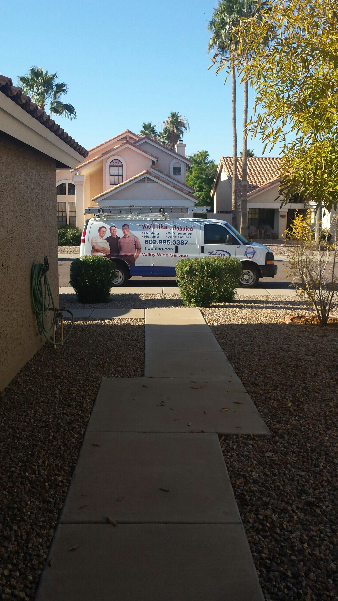 Chandler, AZ - Winter heating maintenance.