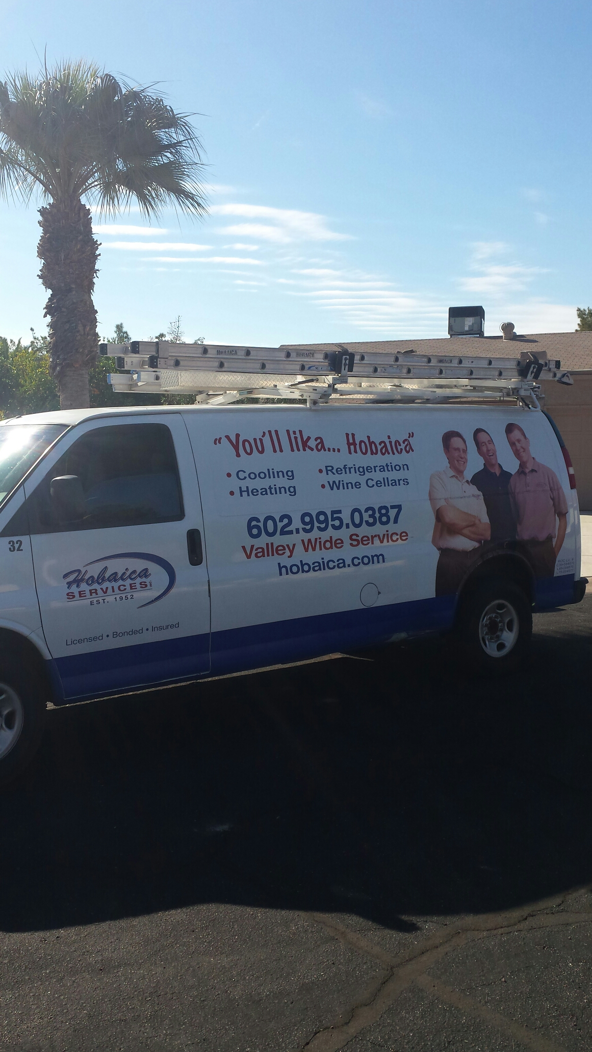 Sun Lakes, AZ - Performing winter maintenance on a heat pump